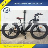 The latest development 36v 8FUN Max. 500w Electric MTB Mountain Bike at long distance 80km with PAS