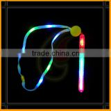 4 led 8 patterns flashing glow stick necklace