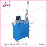 Tattoo Laser Removal Machine 1064nm 532nm ND YAG Skin Care Permanent Tattoo Removal Product Scar Removal Q-switch Laser Medical Hospital ND YAG Laser Machine