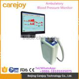 Automatic 24 hour recording BP monitor ABPM Ambulatory Blood Pressure Monitor with software CD