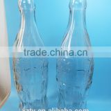 Decorative Gallon empty drinking glass bottle