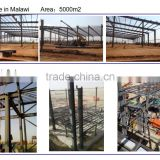 manufacturer pre engineered steel fabricated construction warehouses