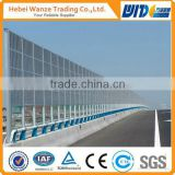 Round Hole Perforated Sheet for highway sound barrier