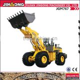 wheel loader tyre protection chains JGM767 with diesel engine