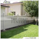 Fentech White Picket Top Plastic Fences for Gardens