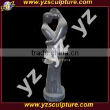 man and woman abstract stone sculpture ABS-362L