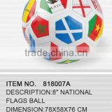 "8"" National flags ball"