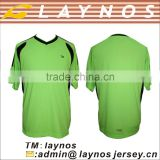 hot sale fashionable black green soccer jersey