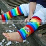 Baby Child Toddler Leg Warmer Cover Rainbow Socks/New Design Cotton Baby Leg Warmers/ Carton Design Cotton Baby's Leg Warmer