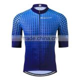 Wholesale china custom bicycle shirt for men Design your own cycling jersey clothing short sleeve manufacturer