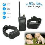 1000M Remote Control Electronic Shock No Bark Vibrating Dog Training Collar for 2 Dogs PET900-2