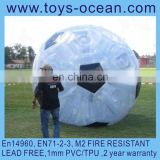DIA 3m Giant Inflatable Soccer zorb ball for outdoor sport