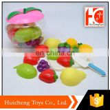 aliexpress china hot sale cutting fruit set children kitchen with different style