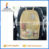 Wholesale car back seat organizer bag hanging travel storage bag multi - pockets car back seat bag