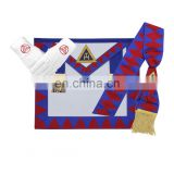 Masonic Regalia Royal Arch Provincial Apron-Sash-Gloves-Set / masonic apron