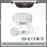OEM High Quality Epoxy Type And Two Space Type Mini Size Metal Custom Pill Box