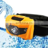 IP65 AAA Battery White + Red Light 80lm 3Watt Waterproof AAA LED Headlamp