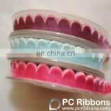 New design ric rac velvet ribbon