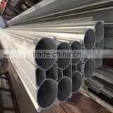 double round aluminum extrusion profile for rail transit produced by large press