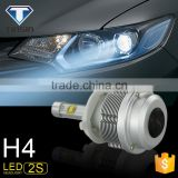 China Factory high power 30w 3600lm 2s auto lighting system h4 led headlight lamp for chevrolet cruze