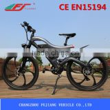 electric bicycle motor chain drive with lithium battery