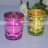 glass candle stand handicraft