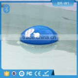 Professional mobile gadget pool waterproof floating high quality bluetooth speaker with led light