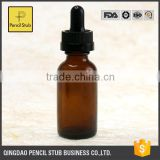 High Quality Amber Essential Oil Glass Dropper Bottle For E Liquid/Essential Oil Bottles