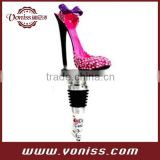 High heel shoes wine stopper Useful Cork Preserver Spark Wine Champagne Bottle Stopper Air Seal Plug