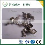 Stainless steel clip for composite decking