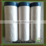 Hot sale protective painting pretaped masking film