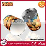 Coin can money box of Halloween