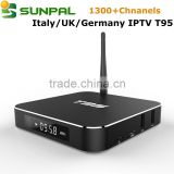 European German IPTV APK Account for Germany Dutch Netherlands Tukish IPTV one year account 1300+ Channels