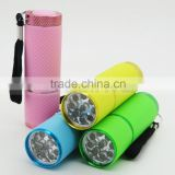 395 NM UV Blacklight Pet Urine Detector Currency Checker Torch Rubber Flashlight