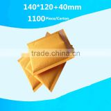 Polyethylene film bubble envelope china pocket envelope custom yellow padded kraft paper bubble envelopesed mailer bags