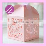 Laser cut wedding favor candy boxes with unique butterfly chocolate box manufacturer TH10