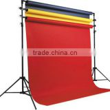 Background stand kit with backdrop 4x3m
