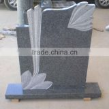 Grey Granite Tombstone Monument