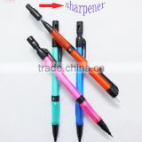 2mm lead automatic mini pencil with sharpener