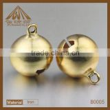 hot sale fashion small brass round bell