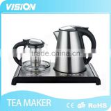 8995TT-E2 Electric stainless steel Tea kettle set with Digital kettle