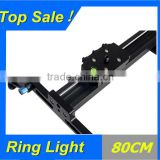 Professional 80cm DSLR DV Camera Shooting Slider Rail Sliding AND Roller Bearing Dolly Track