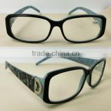 2014 customized fashion marble color reading glasses