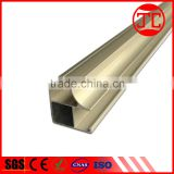 Furniture profiles extrusion profiles Aluminium profile for wardrobe doors,wood grain, sliding system, Handle C