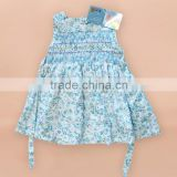 2016 new designs kids clothing wholesale baby boutique dress summer girls dress