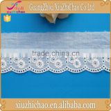 GF9630 guangzhou factory 100%cotton chemical lace trimming garment accessories