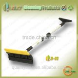 New products most popular made in China aluminium handle portable brush for cleaning window
