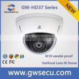 GWSECU IK10 vandalproof ir dome 1080p full hd AHD TVI CVI 4 in 1 camera                                                                         Quality Choice