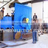 Factory Direct Sales 1000kg to 5000kg Melting Furnace For Aluminum / Cooper / Steel / Iron / Gold / silver Melting