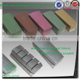 stone grinding brick for granite slab polishing, stone grinding buff for granite and marble polishing